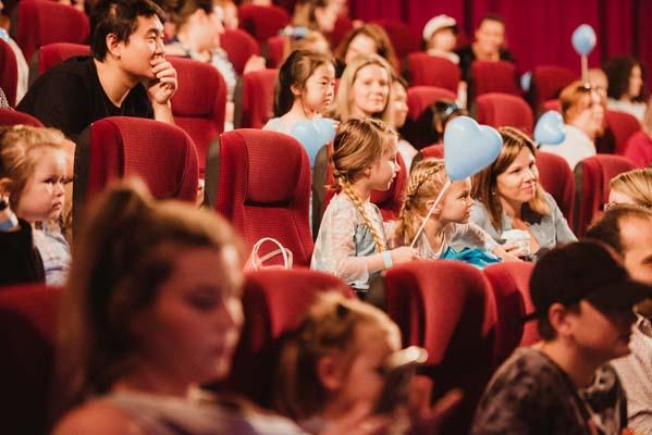 Frozen 2 cinema audience