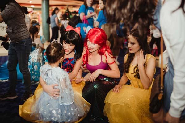 Snow White, Ariel & Belle