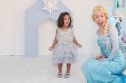 Frozen entertainer