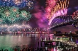 Sydney New years eve bradfield park