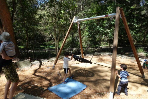 The basket swing at Artarmon
