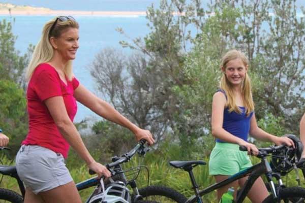 Bike riding Port Stephens