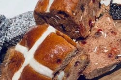The limited-edition Lamington Hot Cross Bun... should you, would you?!?