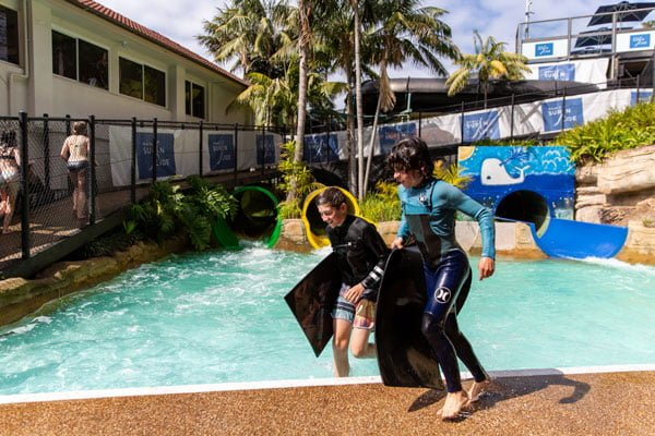 Manly Surf N Slide Waterslides is one of Sydney aqua parks and waterslides