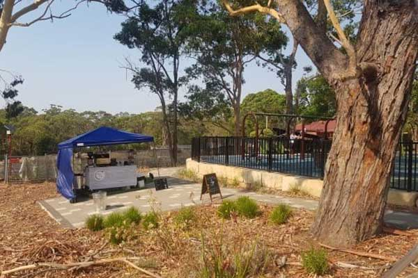 Coffee cart mindarie park