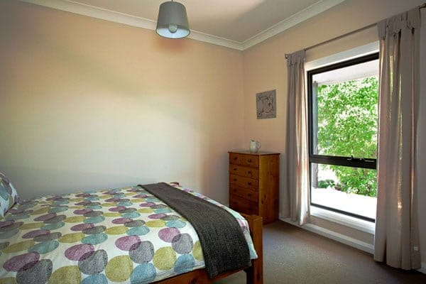 Second bedroom at holiday cottage