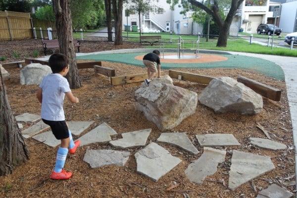 The Irish Grove Playground steppers
