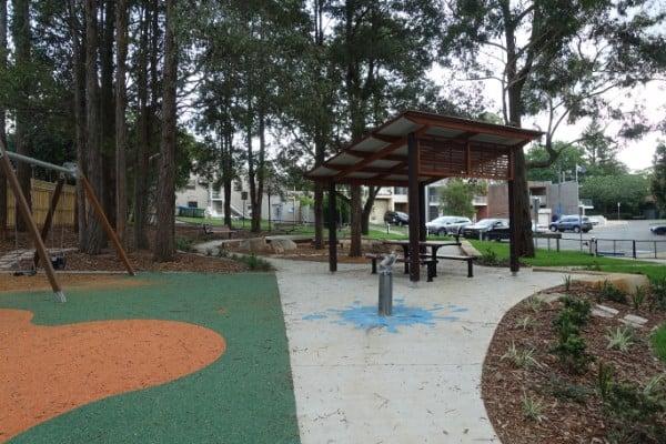 Picnic area playground