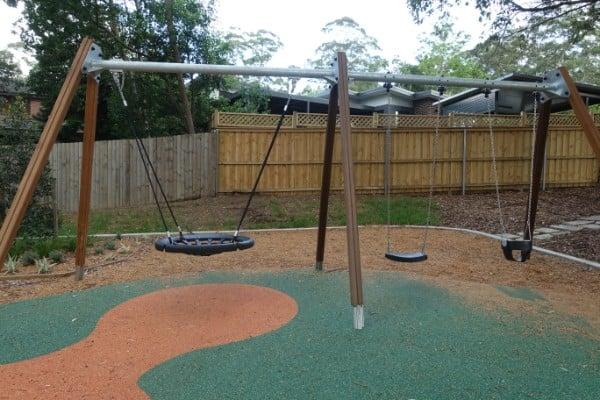 Swing equipment at Irish Grove