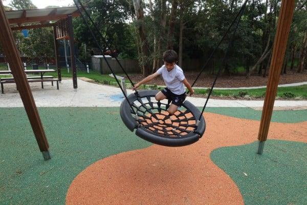 Fun on play equipment