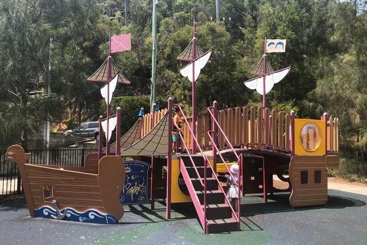 Berowra Waters playground