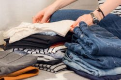 Decluttering your clothes