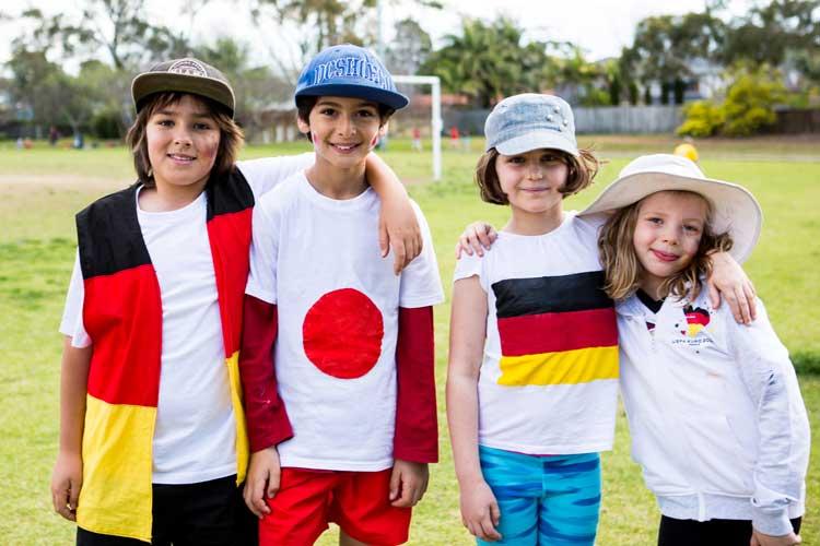 German-International-School-Students-sport
