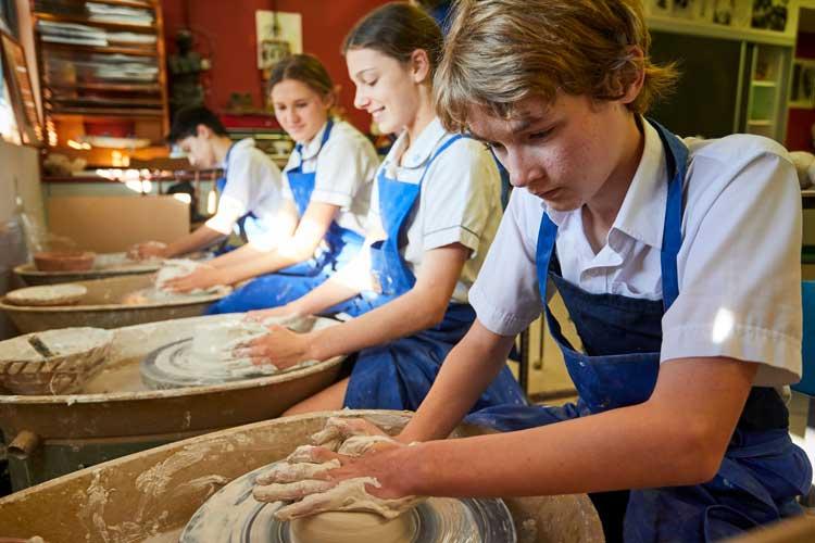 Glenaeon pottery