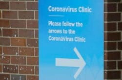 CoronaVirus getting tested Sydney