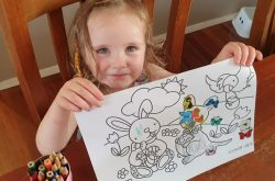 Easter Colouring Competition: Win 1 of 10 Family Passes to Sydney Zoo!