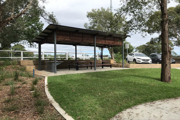 The gazebo at East Lindfield