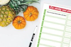 Reduce the daily dinner grind! 7 Tips for Meal Planning