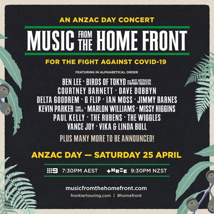 Anzac Day Concert 2020
