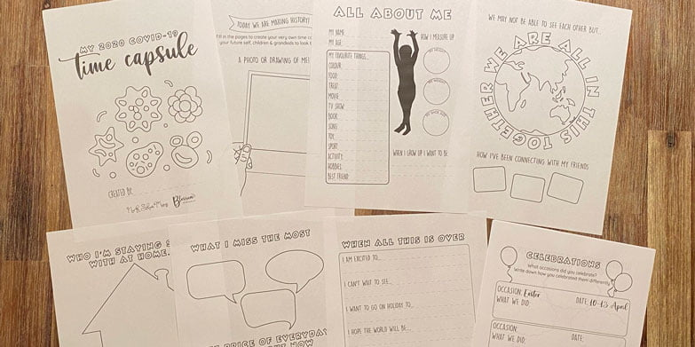 This is an image of Time Capsule Printable Worksheets throughout pinterest
