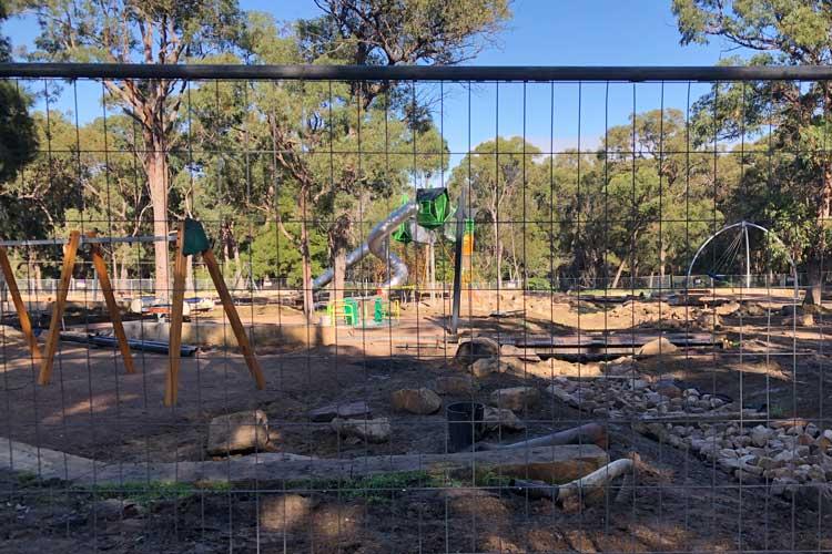 New playground at St Ives Showground