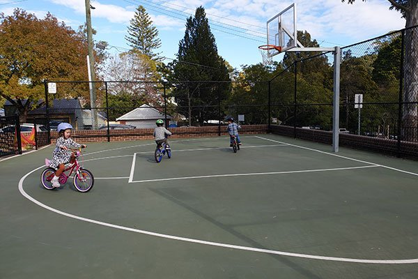 basketball court boyds orchard park