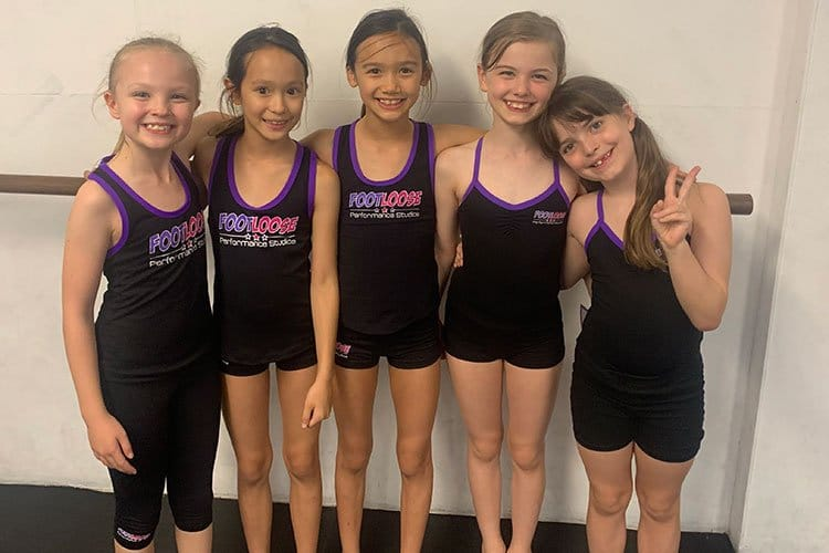 Footloose Performance Studio kids classes north shore sydney