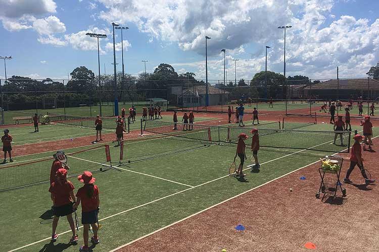Grand Slam Tennis (Cammeray & Naremburn) winter holidays sydney