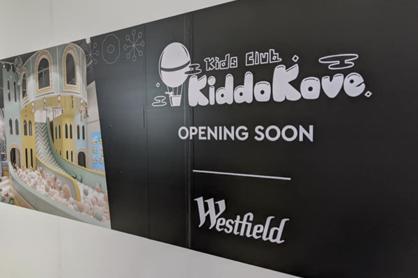 Opening sign kids club