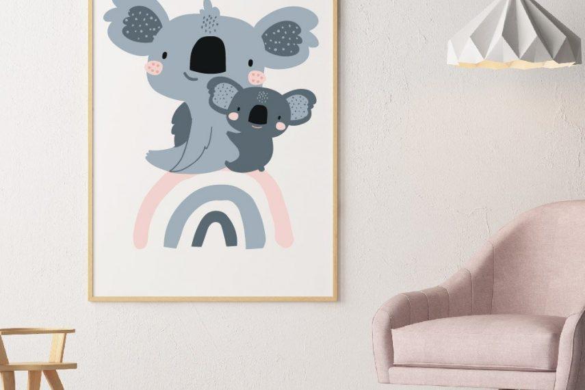 KoalaBearsonRainbowNURSERY01011593518756