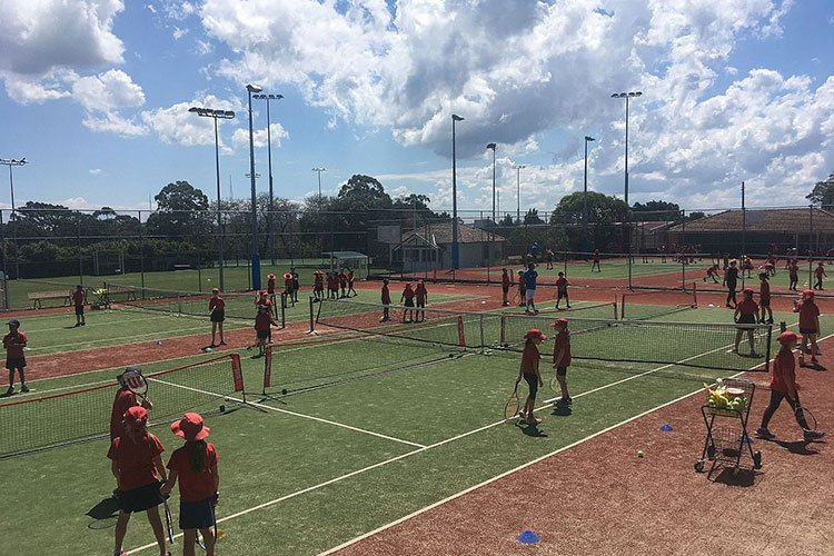 Grand Slam Tennis spring school holidays