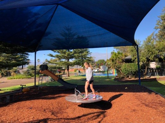 NRMA Lakeside playground