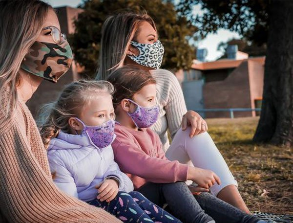 Stylish triple-layer masks