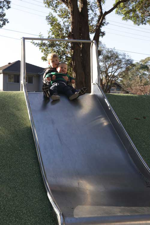 Willoughby Park Playground slide