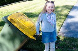 Chores young girl