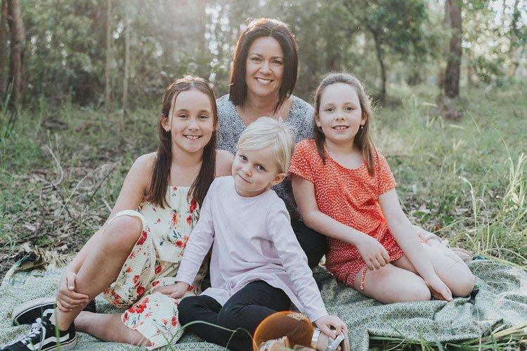 Sydney mum and three daughters