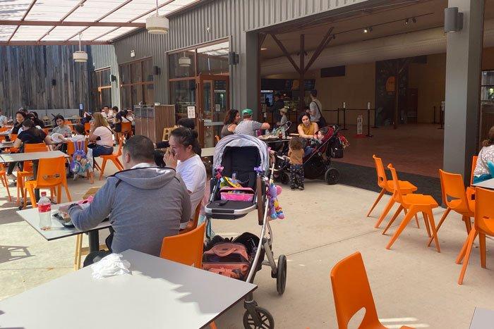 Sydney Zoo cafe