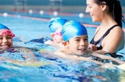 Dive into Summer with 2 free swimming lessons at Aquabliss