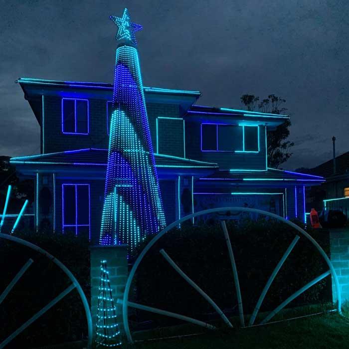 Lockwood Christmas Lights, Asquith