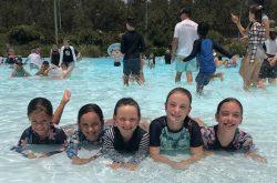 Raging Waters pool