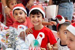 Christmas entertainment at Lachlan's Square Village, Macquarie Park