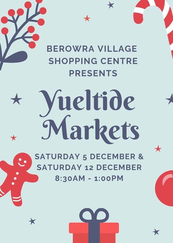 berowra village shopping centre christmas markets