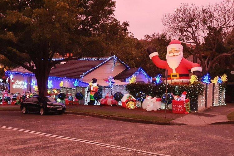 Christmas Lights Mosman