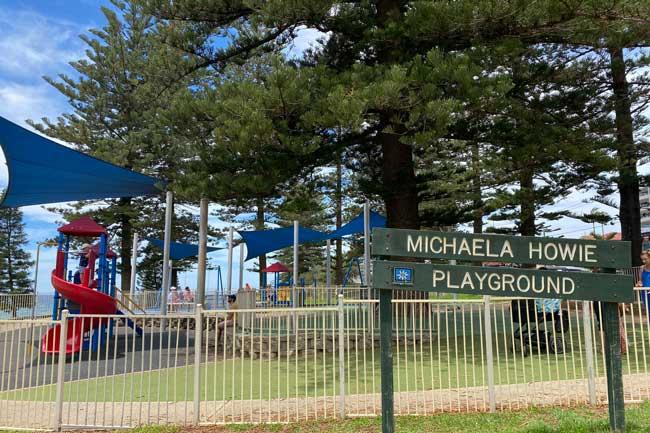 Michaela Howie Playground, Dee Why Beach