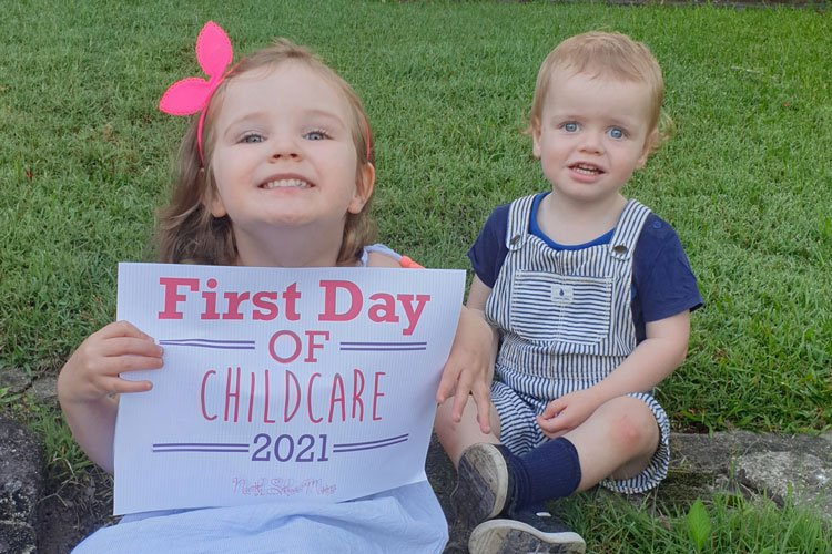 First Day of Childcare Printable