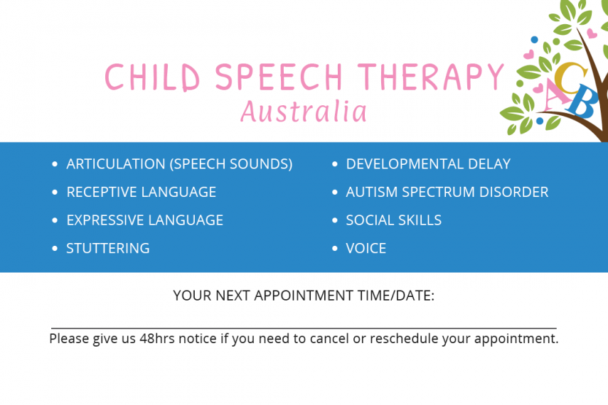 ChildSpeechTherapyBusinessCardFback1615780627