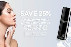 25% off organic, Australian-made skincare from The Divine Company
