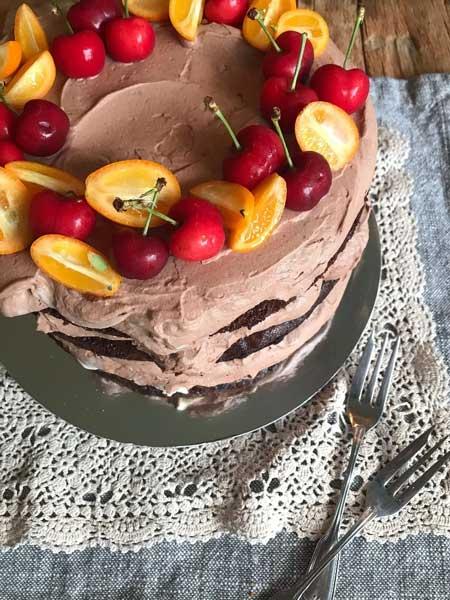 Gabriela Oporto: Baked Chocolate Cake