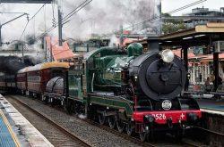 Winter Steam Train Events around Sydney
