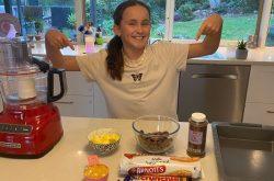Kids in the Kitchen! Honeycomb Slice